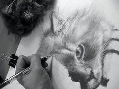 Paul Lung, el arte de dibujar con bolígrafo...