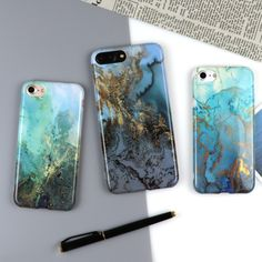 LOVECOM For iPhone 7 6 6S Plus Case For iPhone 7 Plus Hot Sale Marble Back cover Soft IMD Material Phone Cases Best Gift YC2065