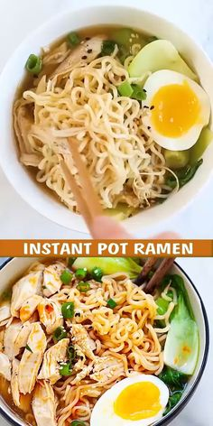 Soup Recipes, Chicken Recipes, Dinner Recipes, Cooking Recipes, Keto Chicken, Recipies, Hearty Chicken Soup, Instant Pot, Instant Ramen