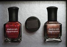 "Deborah Lippmann ""Nails of Steel"" #nailpolish #magneticpolish"
