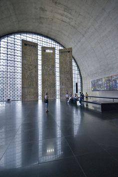 Latin America Memorial Sao Paulo Memorial Hall Architect: Oscar Niemeyer 1987
