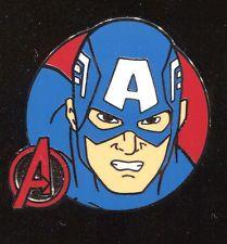 Marvel Avengers Booster Captain America Disney Pin