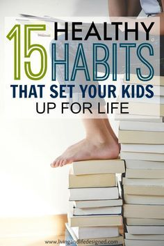 Healthy habits begin at home and kids learn so much just be listening and watching their parents. These healthy habits aren't hard to teach out kids, but a great reminder of how much we really teach our kids by setting a good example.