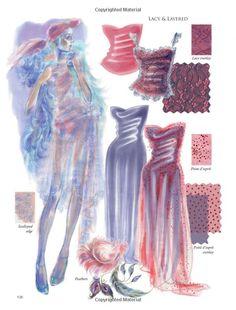 Fashion Illustration: Inspiration and Technique Fashion Portfolio Layout, Fashion Design Sketchbook, Fashion Design Drawings, Fashion Sketches, Fashion Illustration Collage, Fashion Illustration Dresses, Draw Men, School Fashion, Fashion Art