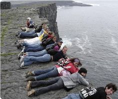 Aran Islands - Can you imagine the signs and fences that would be around something like this in the U.S?