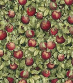 Susan Winget Quilt Fabric- Apples http://www.joann.com/susan-winget-quilt-fabric--apples/13333224.html Item # 13333224 $12.99