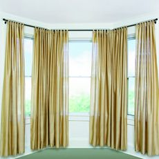 Flexible curtain rod for bay window - from BB