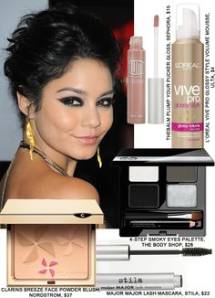 I loved Vanessa's 2012 People's Choice Awards makeup. <3
