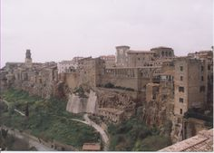 Pitigliano.  A truly spectacular little town in Southern Tuscany.