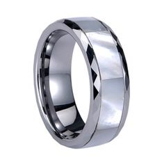 Comfort Fit Tungste polished shiny Ring Popular Jewelry - Tungstenjewellry.com