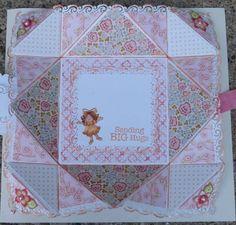 FRED she Said blog hop/ napkin fold card