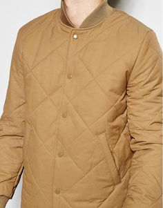 Shop River Island Quilted Bomber Jacket at ASOS. 5ac3a0e7b