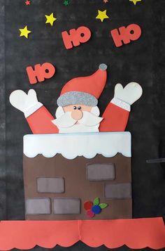Rita - Welcome Christmas Classroom Door, Office Christmas, Kids Christmas, Christmas Door Decorating Contest, Christmas Door Decorations, Santa Crafts, Xmas Crafts, Christmas Crafts For Kids To Make, Christmas Activities