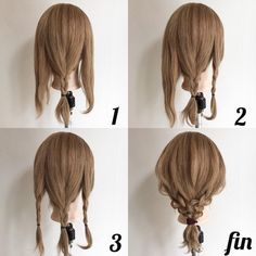 67 ideas for long hair braids styles for work Work Hairstyles, Pretty Hairstyles, Braided Hairstyles, Hairdos, Short Hair Bun, Braids For Long Hair, Medium Hair Styles, Short Hair Styles, Teacher Hair