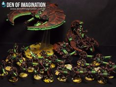 Rusty Necron Army ~ DEN OF IMAGINATION Miniature Painting Service