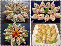 Sałatki w muszlach makaronowych - Blog z apetytem Appetizer Recipes, Appetizers, Polish Recipes, Tapas, Tea Party, Catering, Sushi, Food Porn, Food And Drink