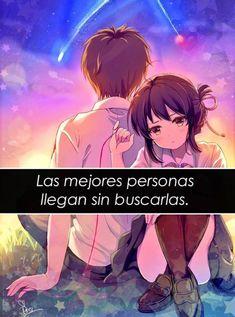 The Best People Arrive Without Looking For Them Sad Anime, Otaku Anime, Anime Love, Kawaii Anime, Manga Anime, I Hate My Life, Life Is Good, Words Can Hurt, Anime Triste