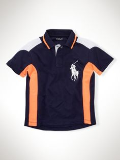 Toddler boy shirt - Bronco colors, Daddy wouldn't let him wear it... LOL!