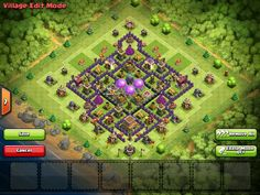 Clash of Clans Town Hall 8 Farming Base AllClash Featured full layout.....I need a new layout