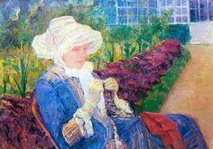 Mary Cassatt - Lydia