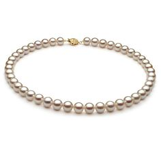 AAA Quality Freshwater Cultured Pearl Necklace in White for Sale White Freshwater Pearl, Freshwater Pearl Necklaces, Pearl White, Cultured Pearl Necklace, Cultured Pearls, Happy Birthday Gifts, Beautiful Necklaces, Fresh Water, Gifts For Mom