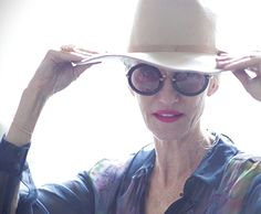 Linda Rodin. Gorgeous hat,