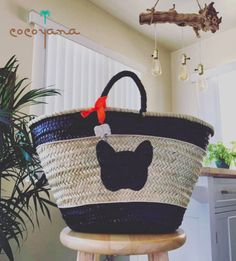 You are going to just love this Pin, What can be more exclusive than our personalized wicker bags, right? 😍   👉 Personalize your own at www.cocoyana.com