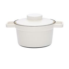 """My design inspiration: Cooking Pot 7.9"""" White on Fab."""