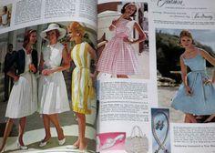 Montgomery Ward Spring/Summer Vintage'62 Catalog PantyHose Stockings lingerie 3