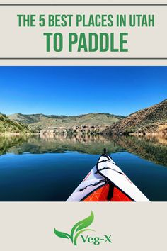 With beautiful bodies of water ranging from high mountain lakes to enormous reservoirs to the iconic Great Salt Lake, Utah is the perfect place to kayak or paddle board. Check out our list of the five best places to paddle in Utah. Utah Vacation, Vacation Deals, Outdoor Activities For Kids, Kid Activities, Adventure Bucket List, Adventure Travel, Around The World In 80 Days, Around The Worlds, Travel Ideas