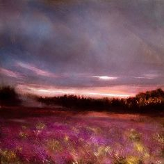Gloria Bog, John O'Grady - www.JohnOGradypaintings.com/blog - I've been reading John McGahern's novels and short stories. I have never seen Gloria Bog but the power and beauty of his writing brought it to life: I close my eyes and can see it but more importantly I feel it. #irishlandscape #bog #johnmcgahern