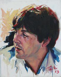 ~ Paul McCartney ~ by Tachi Pintor