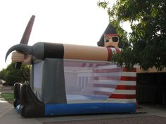 pirate themed party jumper | Pirate Bounce House Rental Long Island- Bouncer Rental NY | Bounce Wow ...
