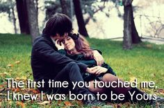 One liner love quote with romantic images