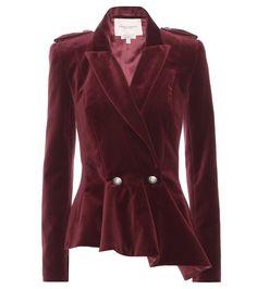mytheresa.com - mytheresa.com exclusive velvet jacket - Current week - New Arrivals - Luxury Fashion for Women / Designer clothing, shoes, bags