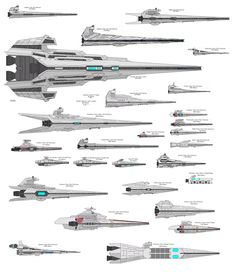 Star Destroyers (Not sure I agree with everything on this, but it's worth a look)