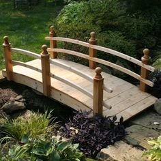 Browse our selection of Japanese Koi pond and tea garden wooden and stone bridges. Available in a variety of styles and length options to fit your Japanese garden landscape design. Japanese Garden Plants, Japanese Garden Landscape, Japanese Garden Design, Garden Landscape Design, Small Garden Design, Garden Landscaping, Japanese Style, Japanese Gardens, Pond Bridge