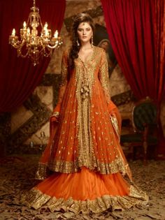 Beautiful Preeti Kapoor sharara style lehenga