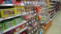 Pick and mix at Sainsbury's