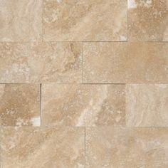 3 in. x 6 in. Tuscany Ivory Honed Bricks Pattern