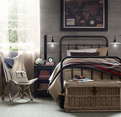 Millbrook Iron Bed | Beds & Bunk Beds | Restoration Hardware Baby & Child