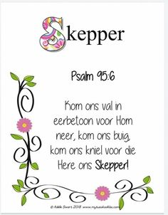 Afrikaanse Quotes, Bible Verses, Faith, My Favorite Things, Words, Creative, Doodle, Inspiration, Decor