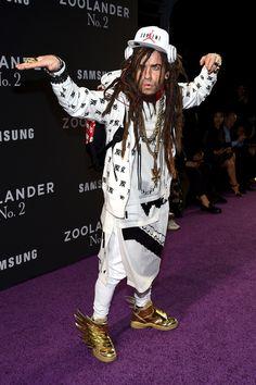 Justin Theroux au défilé organisé pour l'avant première de Zoolander 2