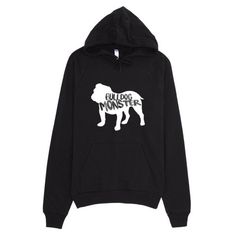 Bulldog Monster Blackout Edition Hoodie