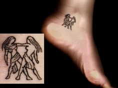 awesome Women Tattoo - 111 Gemini Tattoos - Find Which One is Right For You!...