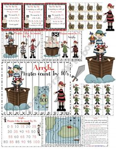 Pirate printables (not free)