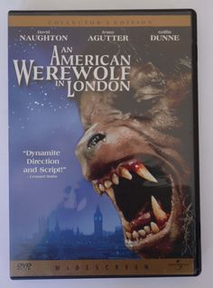 An American Werewolf in London collectors edition DVD by theposterposter on Etsy