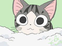 Drawn by . Chii's Sweet Home, Chi, Chi's Sweet Home, Chii, cat Chi Le Chat, Chi's Sweet Home, Cat Icon, Pierrot, Favorite Cartoon Character, Totoro, Cool Cats, Neko, Cartoon Characters