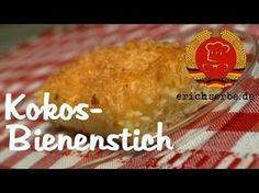 Kokos-Bienenstich - Essen in der DDR: Koch- und Backrezepte für ostdeutsche Gerichte | Erichs kulinarisches Erbe
