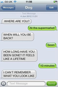This is a great Dog text but I gotta say, I'm waiting for the right person to try this with...muhahaha